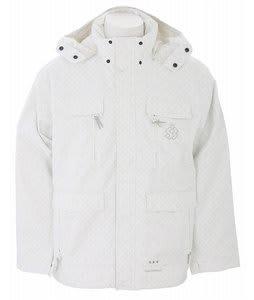 Special Blend Brigade Snowboard Jacket White Invader