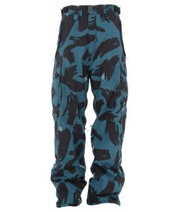 Special Blend Battery Snowboard Pants Black Brush Camo
