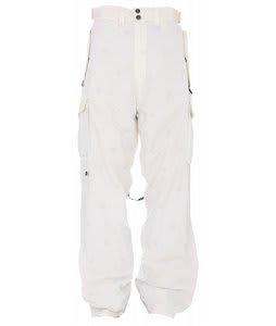 Special Blend Battery Snowboard Pants White Icon