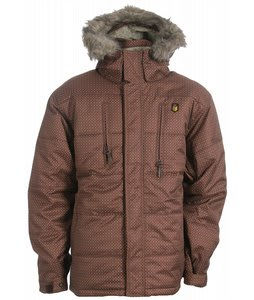 Special Blend Ninety Five Snowboard Jacket Chocolate Dots