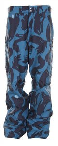 Special Blend Strike Snowboard Pants Black Brush Pat