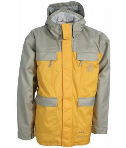 Special Blend Brigade Snowboard Jacket Olive Grey