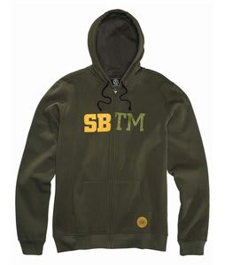 Special Blend Cadet Fullzip Hoodie Burnt Greens