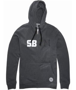 Special Blend Cadet Fullzip Hoodie Heather Grey