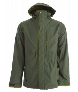 Special Blend Caliber Snowboard Jacket Burnt Greens