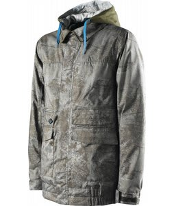 Special Blend Caliber Snowboard Jacket Burnt Greens Floored
