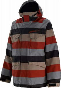 Special Blend Circa Snowboard Jacket Big Stripe Red Army