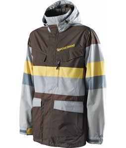 Special Blend Circa Snowboard Jacket Steel Reserve Faded Out Stripes