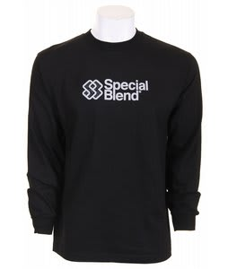 Special Blend Classic Stack L/S T-Shirt Black