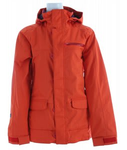 Special Blend Click Snowboard Jacket Red Army
