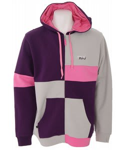 Special Blend Color Block Full Zip Hoodie