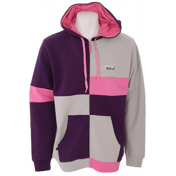 Special Blend Color Block Full Zip Hoodie