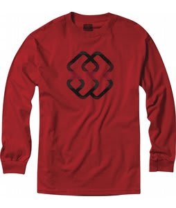 Special Blend Cobbler L/S T-Shirt Red Rum