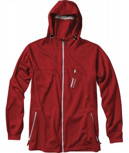 Special Blend Contra Bonded Hooded Jacket Red Rum