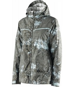 Special Blend Crash Snowboard Jacket Blue Agave Floored