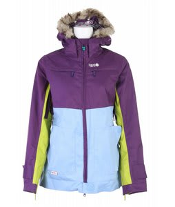 Special Blend Crash Snowboard Jacket Royal Purple