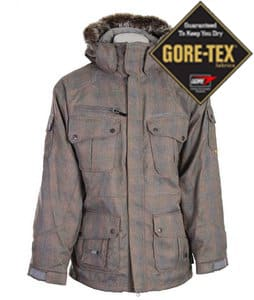 Special Blend Cross Snowboard Jacket Rusty Plaid