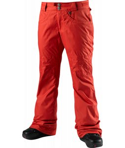 Special Blend Dash Snowboard Pants Red Rum