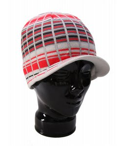 Special Blend Decon Plaid Visor Beanie Grey Deconstructed Plaid