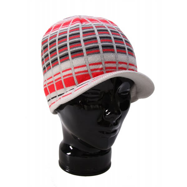 Special Blend Decon Plaid Visor Beanie