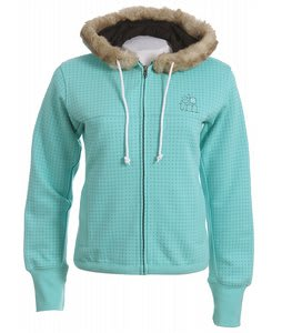 Special Blend Dot Zip Hoodie Eggshell
