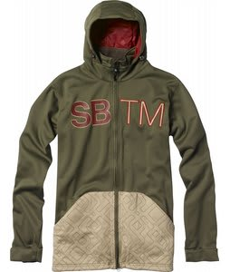 Special Blend Double Team Bonded Fleece Burnt Greens/Tan Lines