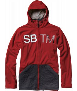 Special Blend Double Team Bonded Fleece Red Rum/Iron Lung