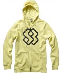 Special Blend Faded Full Zip Hoodie Mellow Yellow