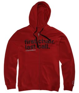 Special Blend Fclc Fullzip Hoodie Red Army