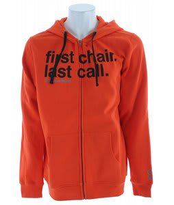 Special Blend Fclc Fullzip Hoodie Red Orange Army