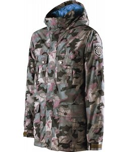 Special Blend Fist Snowboard Jacket Burnt Greens/Last Call Camo