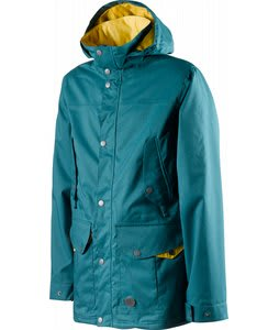 Special Blend Fist Snowboard Jacket Teal Bag 