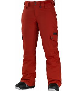 Special Blend Glam Snowboard Pants Red Army