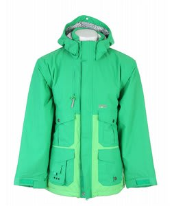 Special Blend Gunner Snowboard Jacket Crew Green