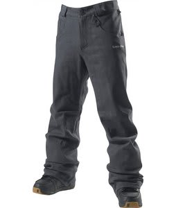 Special Blend Gutter Snowboard Pants Black Denim