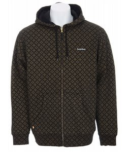 Special Blend Foiled Invader Zip Hoodie Black/Gold