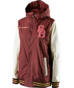 Special Blend Hush Snowboard Jacket Merlot 