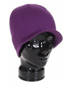 Special Blend Icon Visor Beanie Grape Royal