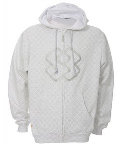 Special Blend Invader Zip Hoodie White Invader
