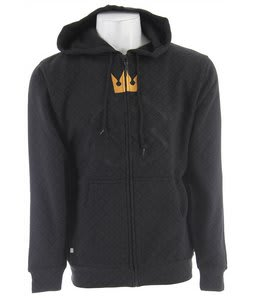 Special Blend Invader Zip Hoodie Black Invader Crown
