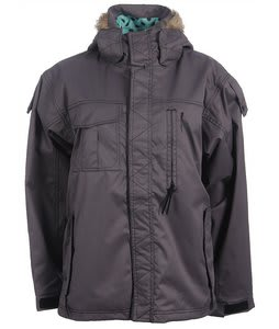 Special Blend Legacy Snowboard Jacket Black Micro Check