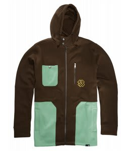 Special Blend Link Fullzip Hoodie Stout