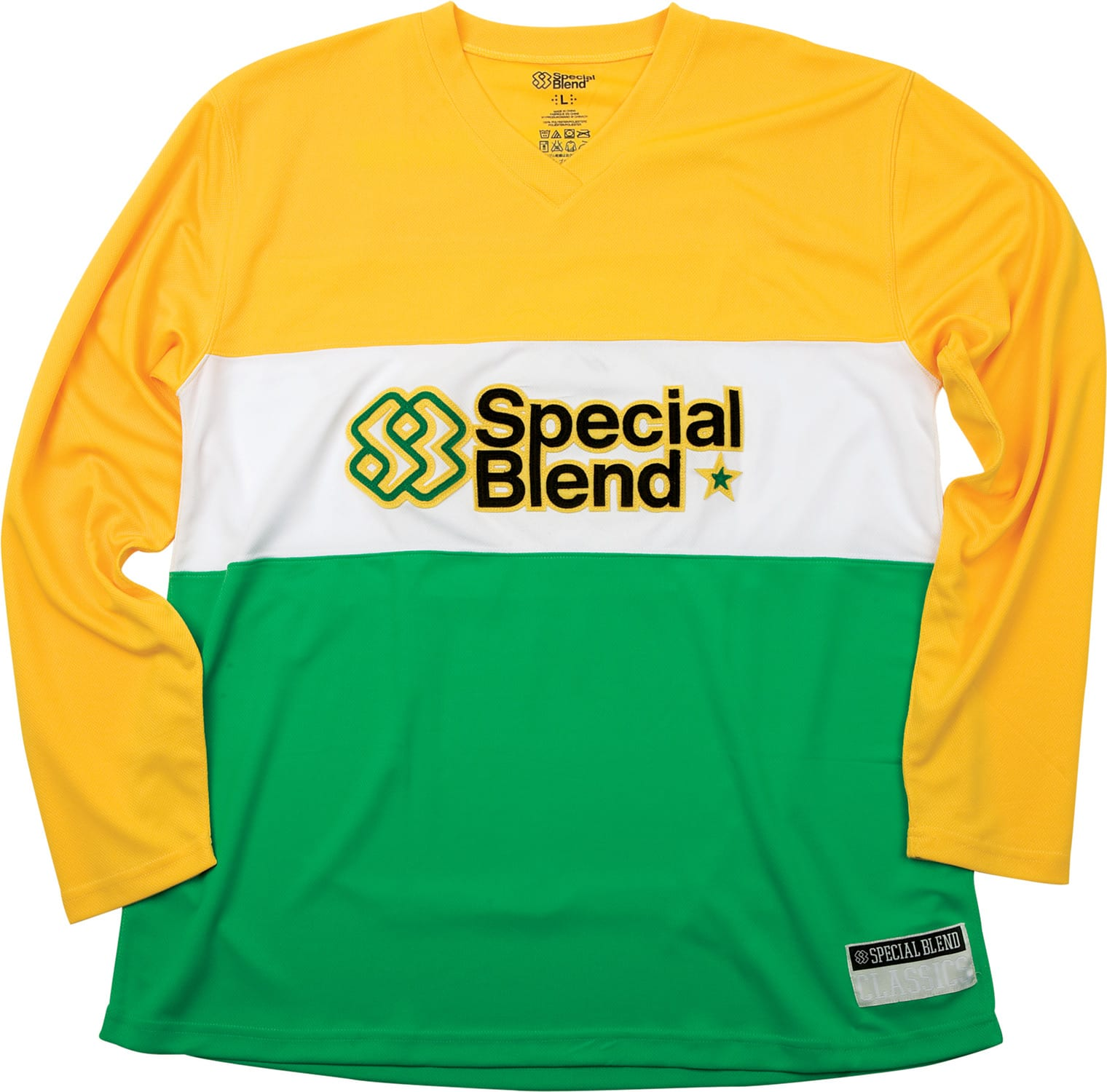 Shop for Special Blend Long Sleeve Jersey Baselayer Top Burst - Men's