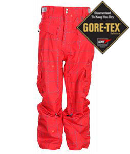 Special Blend Mark Snowboard Pants Red Rum Crossfire