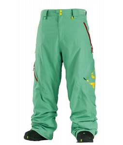 Special Blend Mark Snowboard Pants Green Piece