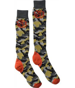 Special Blend Midweight Socks Burnt Greens/Last Call Camo