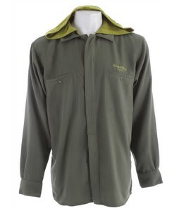 Special Blend Night Shift Hooded Shirt Baselayer Top Burnt Greens