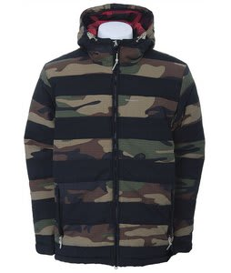 Special Blend Notto Snowboard Jacket Over Dye Camo