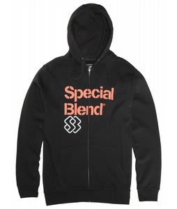 Special Blend Principal Fullzip Hoodie Blackout