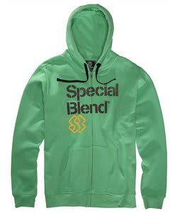 Special Blend Principal Fullzip Hoodie Green Piece